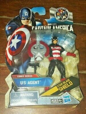 """Captain America: The First Avenger -US AGENT- Comic Series 4.5"""" Action Figure!"""