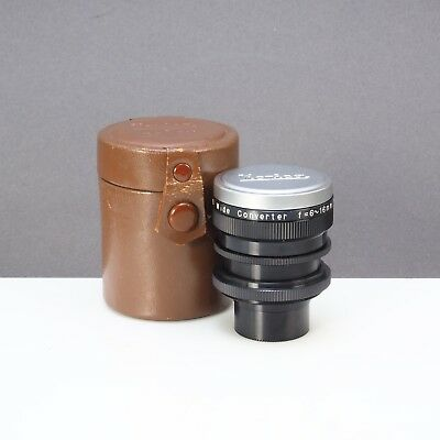 = Konishiroku Konica Zoom 8 Wide Converter Aux Lens 6-16mm with Case