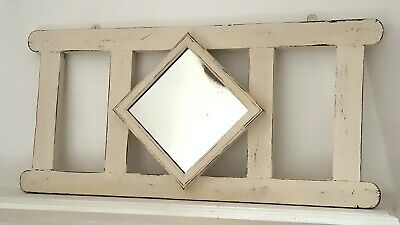 Antique Victorian hall mirror, vintage, shabby chic, bohemian, French country.