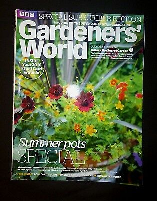Gardeners World May 2016  BBC, Subscriber's Edition, Summer pots special,