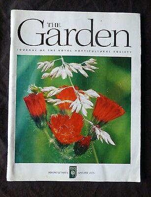 The Garden, June 2002, Vol 127 Part 6 Journal of the Royal Horticultural Society
