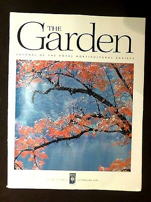 The Garden, Oct 2004, Vol 129, Pt 10 Journal of the Royal Horticultural Society