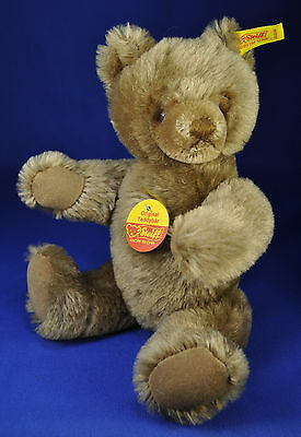 Steiff: Original Teddy Bär / Bear, 0202/26, 1968-90, KFS / all IDs, Maskenbär