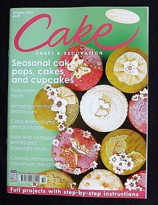 Cake Decoration, October 2012, Seasonal Cakes pops, Cakes & Cupcakes, Painting