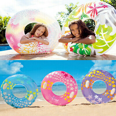 3Pcs Swimming Ring Training Aid With Handle Safety Inflatable For Adult Child