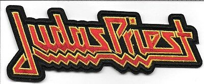 Judas Priest (band) logo Embroidered Patch Iron-On Sew-On fast US shipping