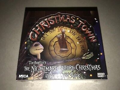 Tim Burton's The Nightmare Before Christmas TCG Box Christmas Town NECA Sealed