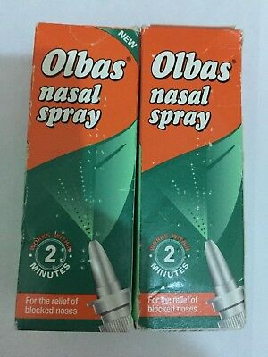 Olbas Olbas Nasal Spray[20ml] (2 Pack) - FREE POSTAGE