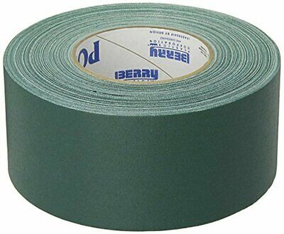 "GREEN Gaffers Tape POLYKEN 510 72mm x 50M (3"" x55yds) Full Case of 16 Rolls"