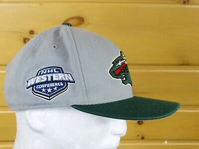 check out 3771e adff0 Minnesota Wild Cap Hat Gray Nhl Western Conference 47 Brand Hockey One Sizes