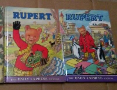 2 Rupert The Daily Express Annual Books