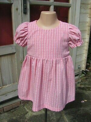 a498 Baby & Toddler Clothing Next Baby Girls 12-18 Months Short Sleeved Dress