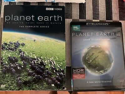 Planet Earth 2 and Planet Earth DVD/Blu-ray 4K UHD