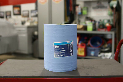 Blue Shop Towel Roll by Tork for Centerfeed Dispenser: 13 24 51A (NEW!)
