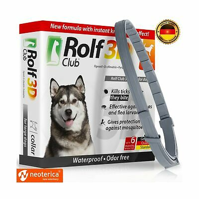 Rolf Club 3D FLEA Collar for Dogs - Flea and Tick Prevention for Dogs - Dog F...