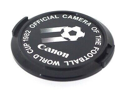 Canon Genuine 52mm Front Lens Cap - 1982 World Cup Official Camera