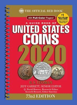 2020 Official Red Book of United States Coins In Stock & Shipping