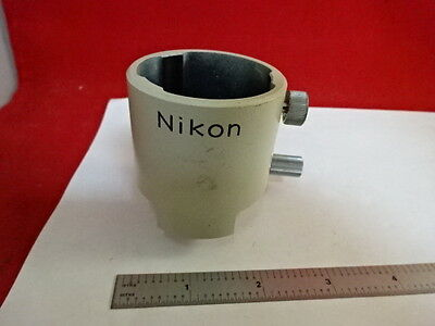 Nikon Japan Camera Adapter Optics Microscope Part As Pictured &86-80