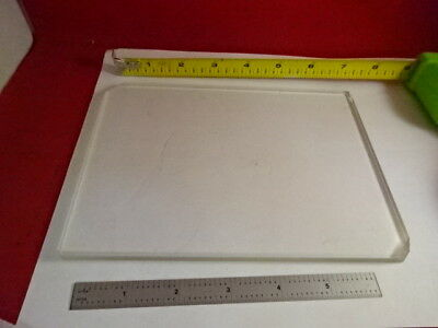 Huge Glass Stage Olympus Microscope Part Optical Optics As Pictured &86-67