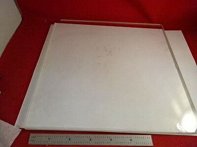 Huge Glass Stage Olympus Microscope Part Optical Optics As Pictured &86-68