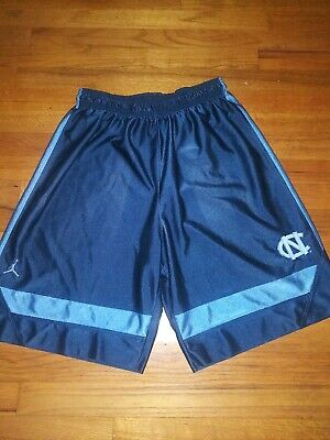 fb534b622a9 Vintage 90s L Authentic Jordan Nike North Carolina Tar Heels Jersey Shorts  ncaa