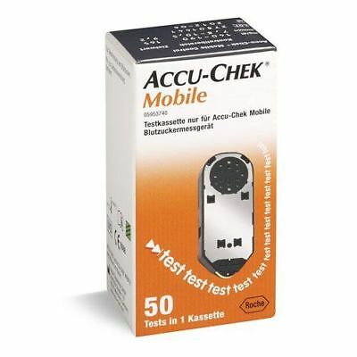 Accu Chek Mobile 250 Test Strips 5 Boxes (Expiry Dates March-2020)