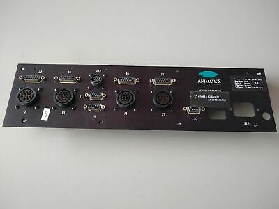 Novellus 27-050014-02 Cdp2407-2 Animatics Motion Controller Faceplate