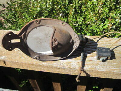 Antique Pullman Railroad Train Car Cast Iron Sconces or Wall Light and Coat Hook