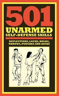 501 Unarmed Self-Defense Skills by McNab, Chris -Hcover