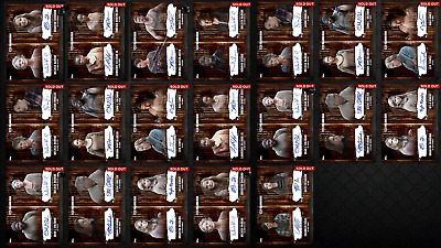 Topps Walking Dead Card Trader Assorted Dual Sigs - Lot of 19