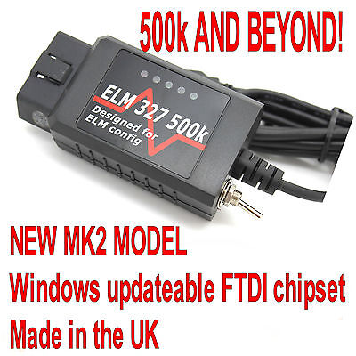 ELM327 OBD2 USB Modified Switch Forscan Elmconfig Fits Ford Focus Mondeo Mazda