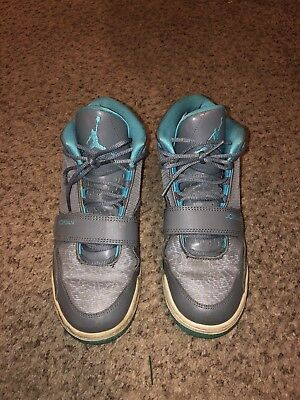 finest selection 66cd8 f2302 Air Jordan Flight Youth Basketball Shoes Gray Gamma 602662-015 Size 5.5Y