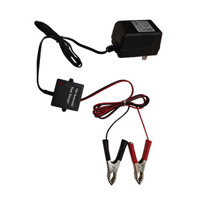 12V Car Automatic Battery Float Charger Charge Trickle Motorcycle ATV Boat RV