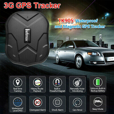TKSTAR TK905 Magnetic 3G GPS Tracker GSM GPRS Waterproof Car Vehicle Spy Hidden