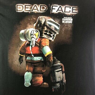 "Plants vs. Zombies Garden Warfare Dead Face Logo Mens T Shirt ""L"""