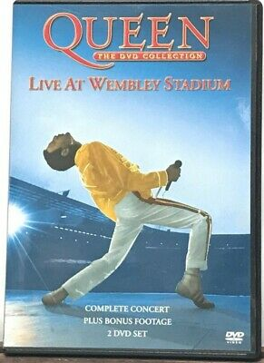 Queen - Live At Wembley Stadium - 25th Anniv ✔✔ NEW & Sealed ✔✔ Fast & Free Post
