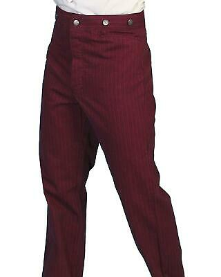 0a24f329 SCULLY WESTERN PANTS Mens Old West Durable Canvas Rugged RW040 ...
