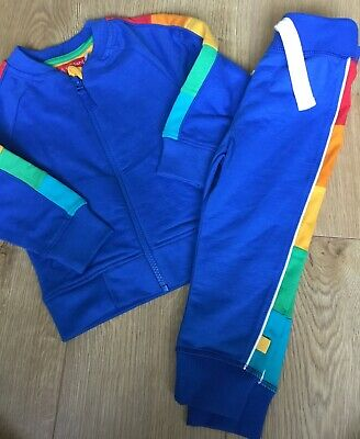 Little Bird By Jools Oliver Age 18-24 Mths Coloured Sleeve Jacket & Joggers Bnwt