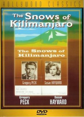 The Snows of Kilimanjaro (DVD, 1998) Brand New/SEALED  *FAST FREE SHIPPING!