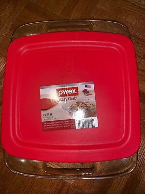 "Pyrx Easy Grp Sq W/Cvr 8"",Size EA,Pack of 3, Pyrex Easy Grp Sq W/Cvr 8"",by Pyrex"