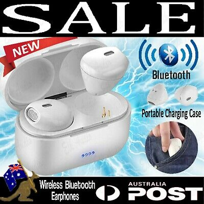 Wireless Bluetooth Earphones Headphones For iPhone Samsung Android Earbuds