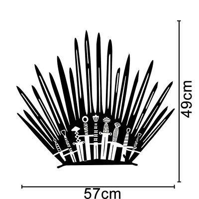 GAME OF THRONES Wallpaper Sticker Vinyl Decal Toilet Room Wall Mural Decor