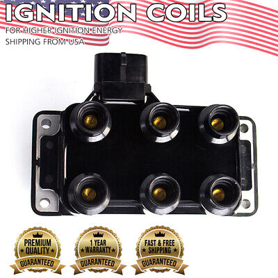 NEW IGNITION COIL High Performance for Ford Mazda Mercury FD480