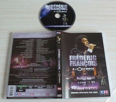 Dvd Pal Musique A L'olympia Frederic Francois Spectacle Live 2005
