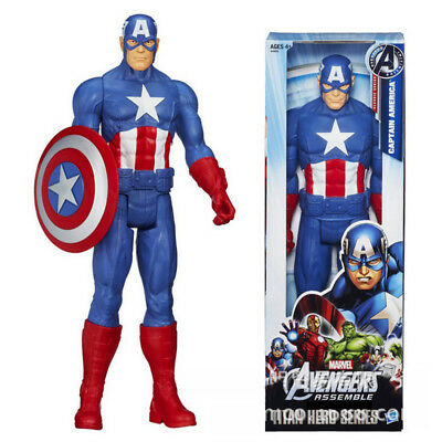 """12 """" The Avengers Marvel Captain America Action Figures Bambini Collezione"""