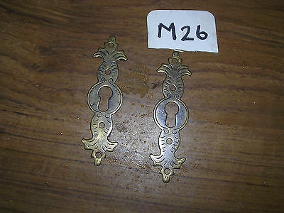 Pair Of Brass Escutcheons