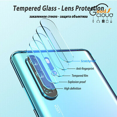 1/2pcs For Huawei P30 Lite Pro Cover Case Camera Lens Protector Glass Full Film