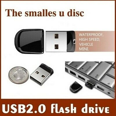 16GB / 32GB / 64GB / 128GB / 256GB USB 2.0 Mini Flash Pen Drive Memory Stick