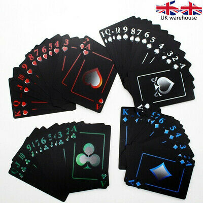Frosted Waterproof PVC Poker Playing Cards Novelty High Quality Collection Board