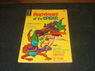 Brothers of the Spear #1 Jun '72 Gold Key Bronze Age                     ID:4209
